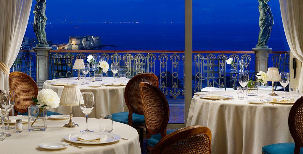 Gourmet Italian delights await at the restaurant
