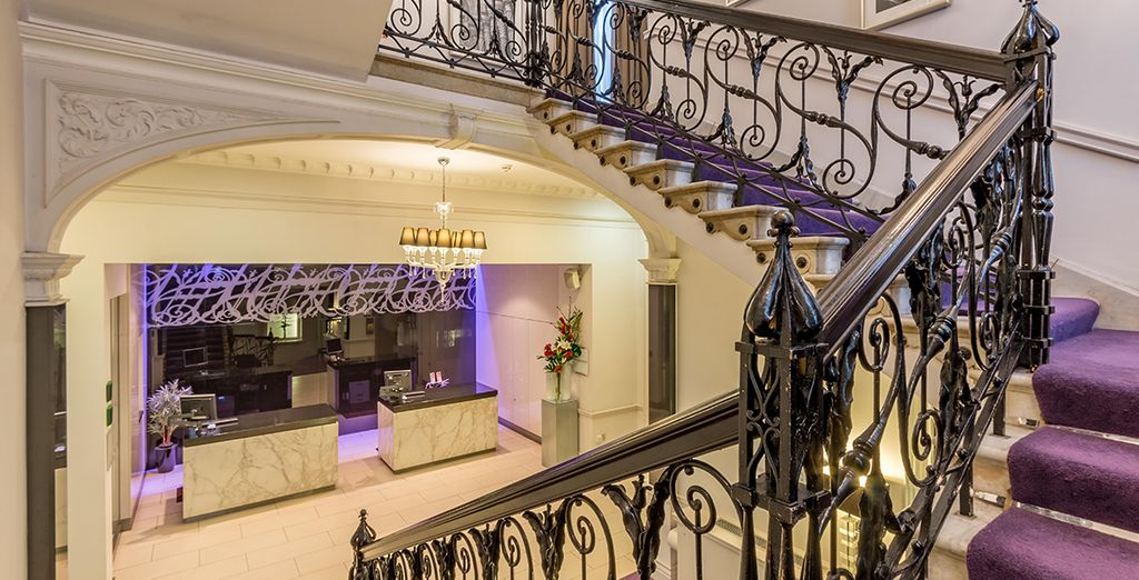 Welcome to the elegant and refined Thistle Holborn, The Kingsley