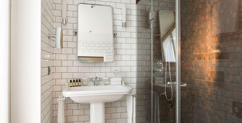 Enjoy sleek and modern facilities