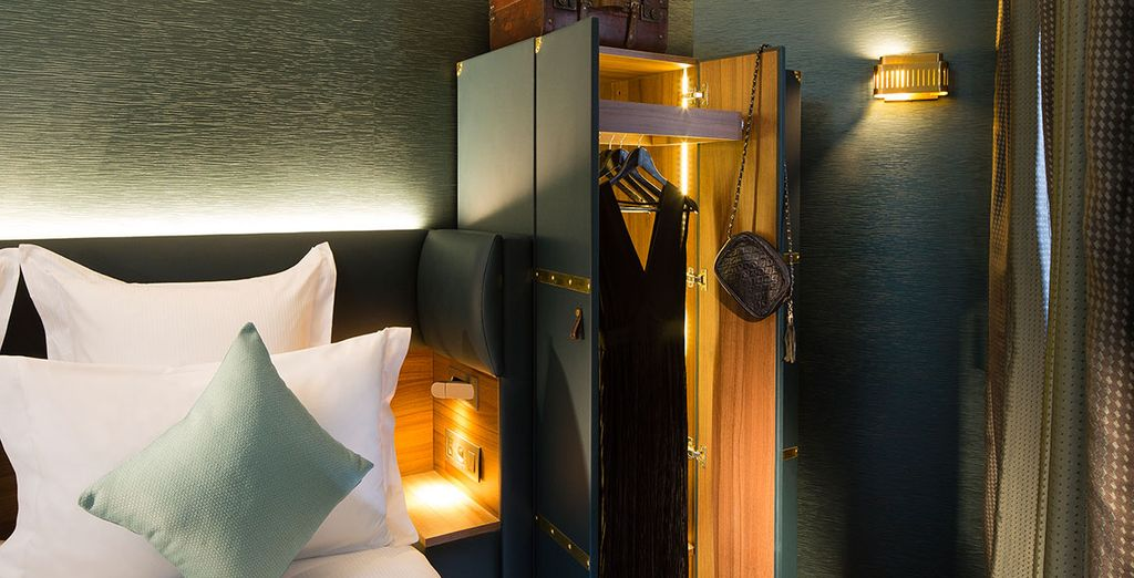 The Whistler Hotel welcomes its guests in an unusual setting