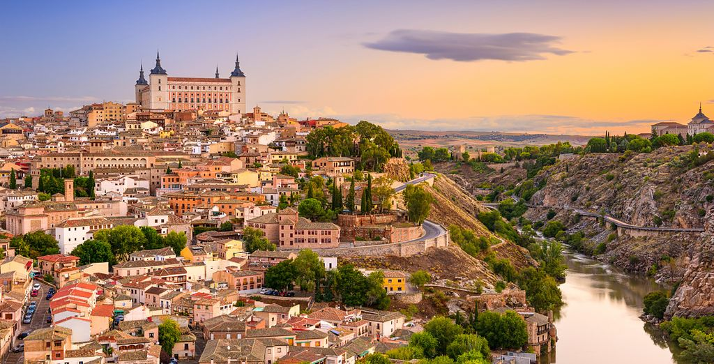 Don't forget to utilise car hire and visit the city of Toledo