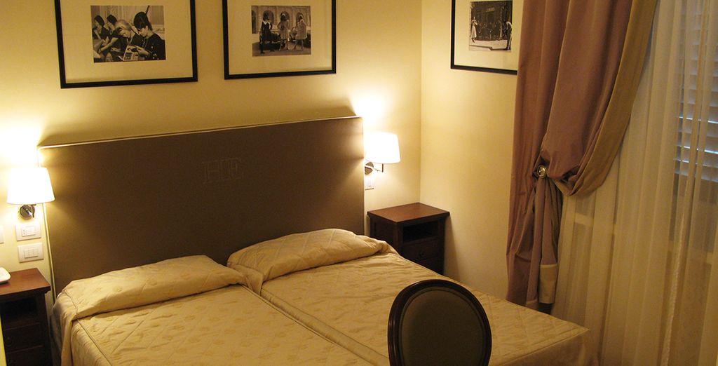 Sleep in a Classic Room