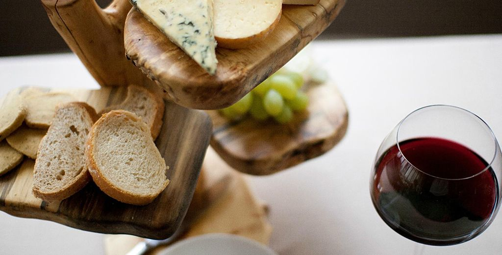 Treat yourself to culinary delights and upgrade to our half board option