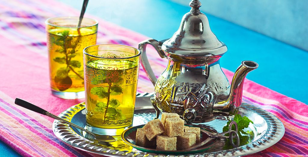 Where you will be welcomed like a VIP with a traditional mint tea and Moroccan pastries