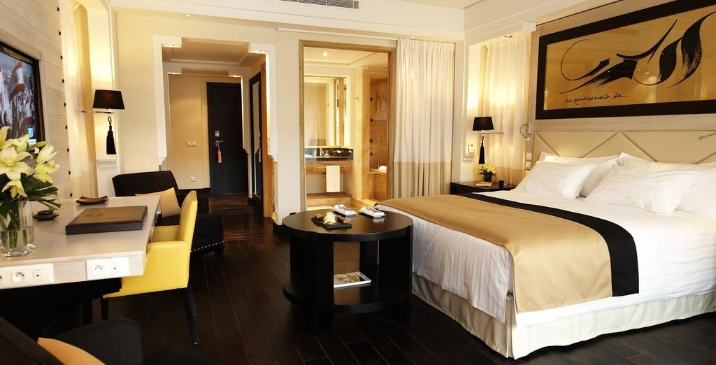 Our members will stay in a stylish Superior room