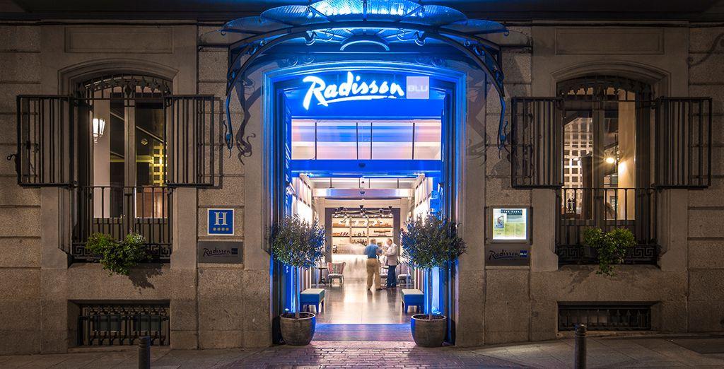 Welcome to Radisson Blu Hotel Madrid Prado 4*