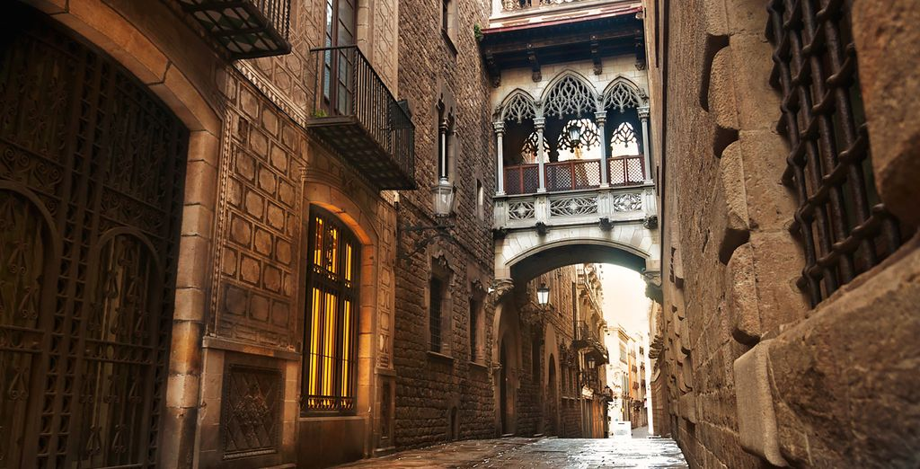 With its gothic quarter...