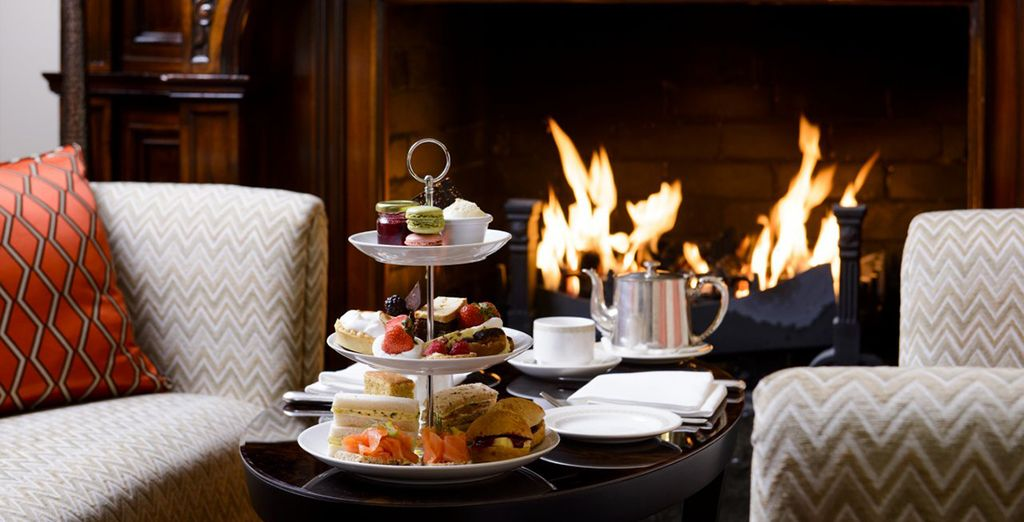 Order traditional Afternoon Tea