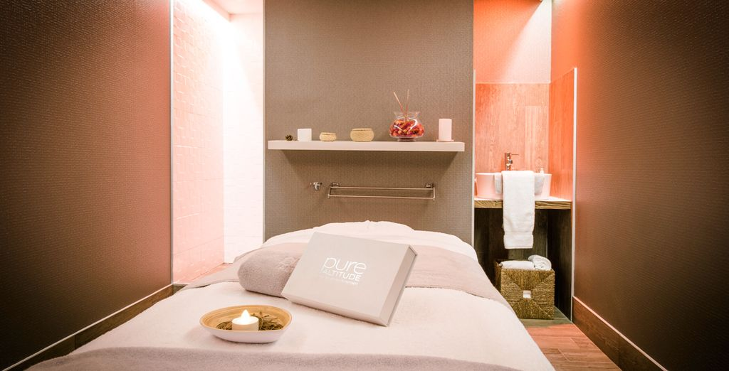 Treat yourself to a massage at the Pure Altitude Spa