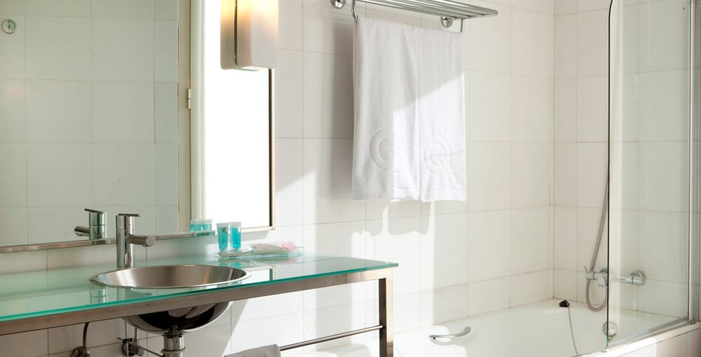 With fully equipped bathrooms