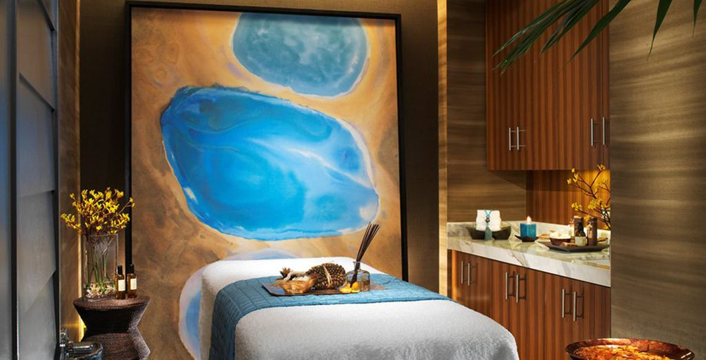 Indulge in a treatment or massage