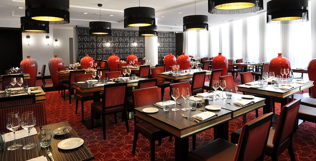 Dine at the Maxens Restaurant