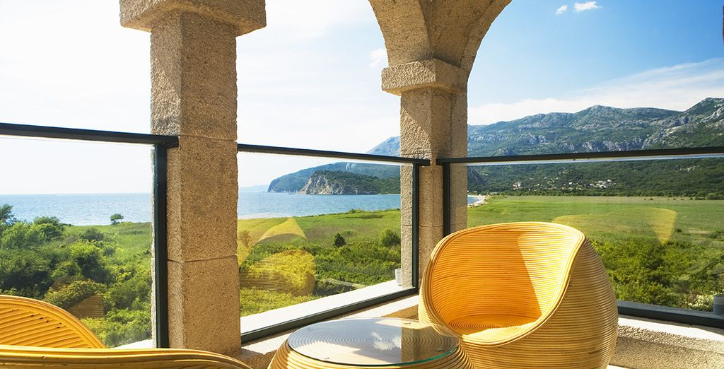 Admire stunning views from every corner of the hotel