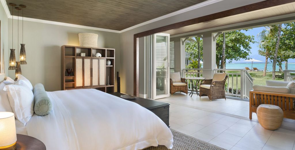 Wake up to a sublime view every morning from your Junior Suite
