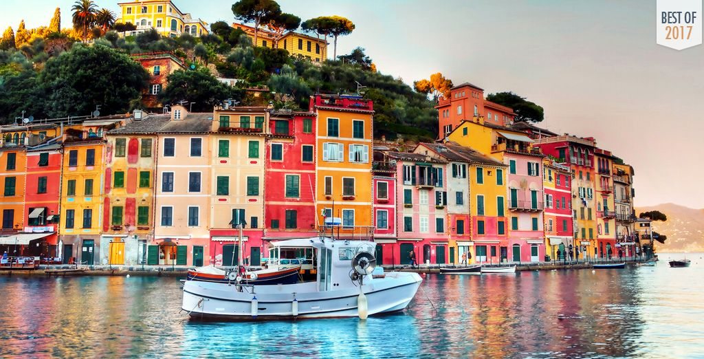 You're just 9km from famously beautiful towns like Portofino