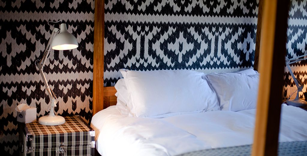 Choose between a Small Luxury Double Room