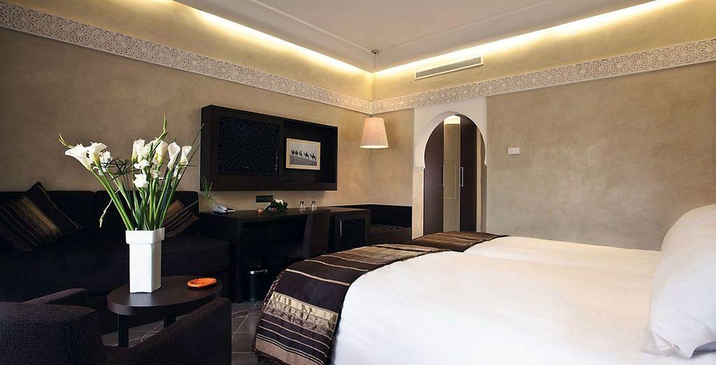 Relax in your Deluxe Room