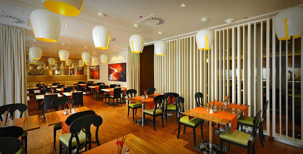 Return in the evening for a delicious meal - you have a 10% restaurant discount