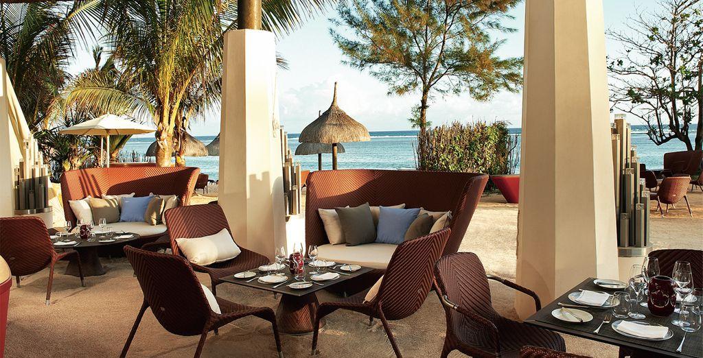 A luxury beachside hotel in stunning Mauritius