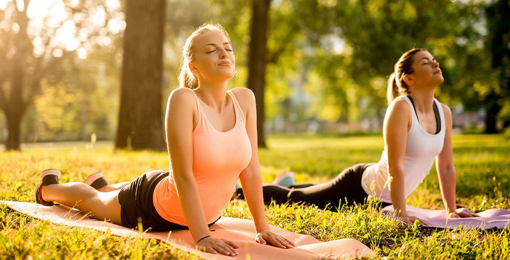 Stay zen and partake in a yoga class