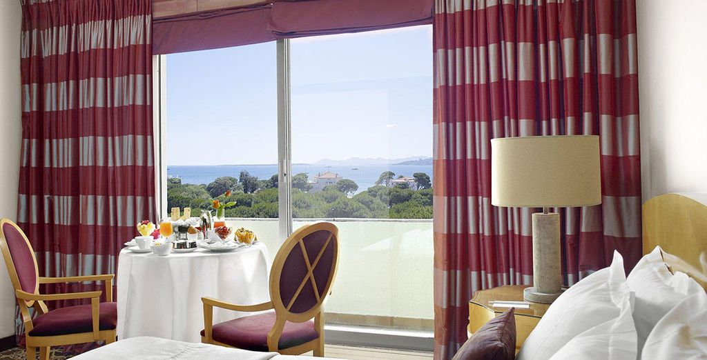 Or a Prestige Room with sea views!