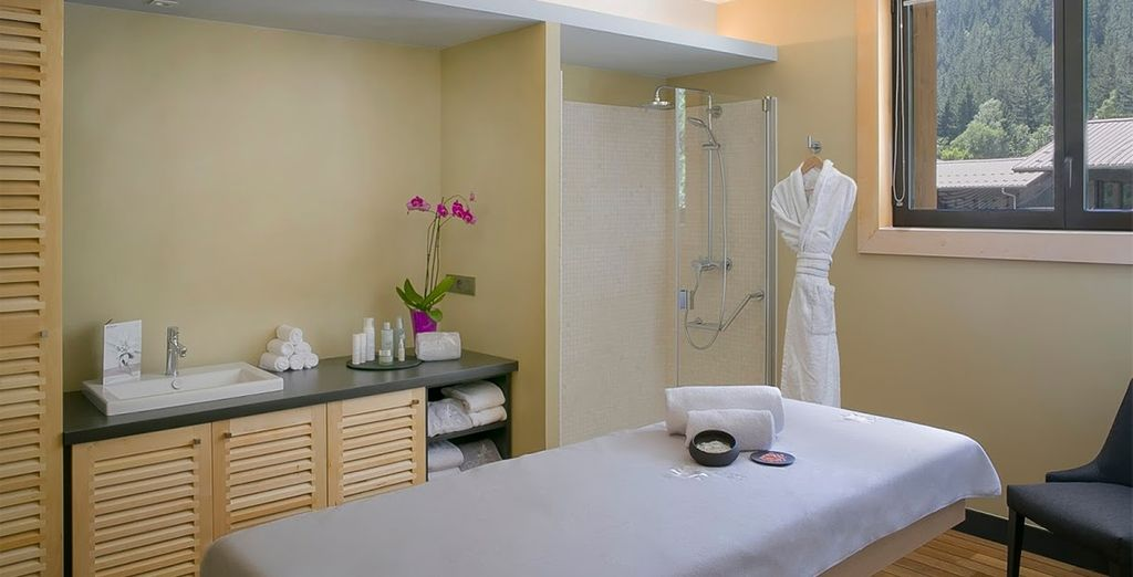 Or indulge in a relaxing massage