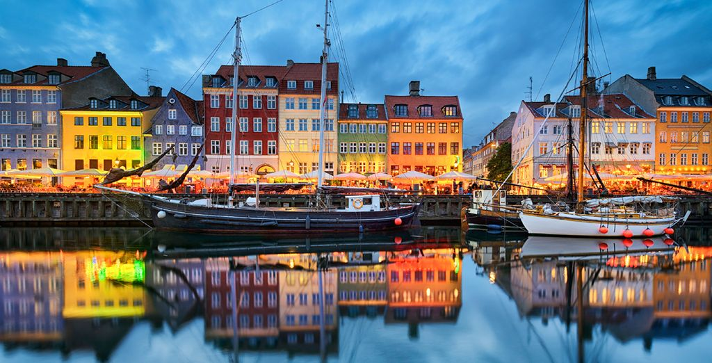 SKT Petri has perfect location in the colourful harbour of Nyhavn...