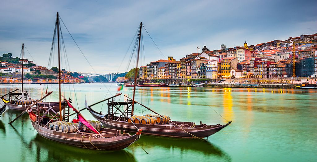 Or cross the river to nearby Porto