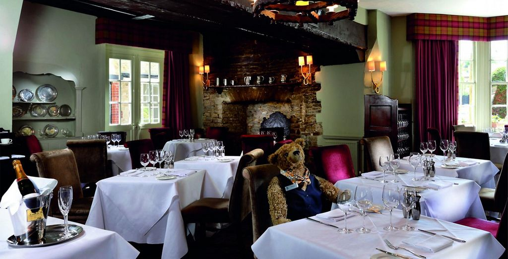 We've also include a dinner on every night of your stay