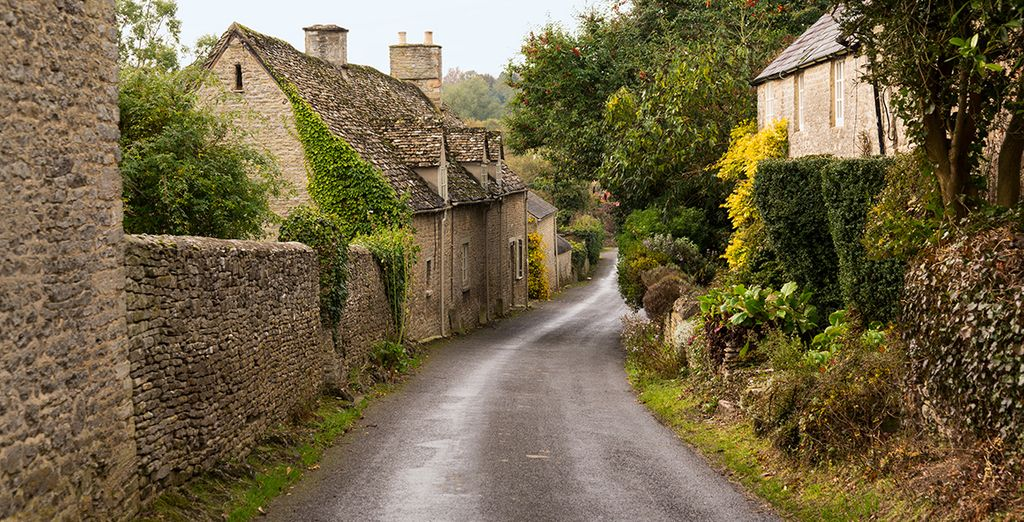 Explore some of the beautiful Cotswold villages nearby