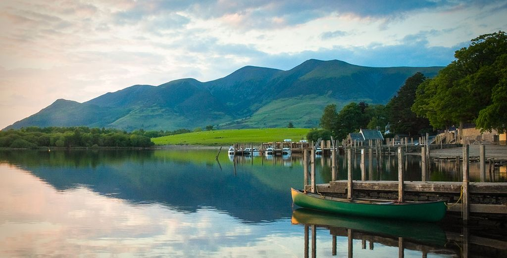Nestled between the stunning lake district...