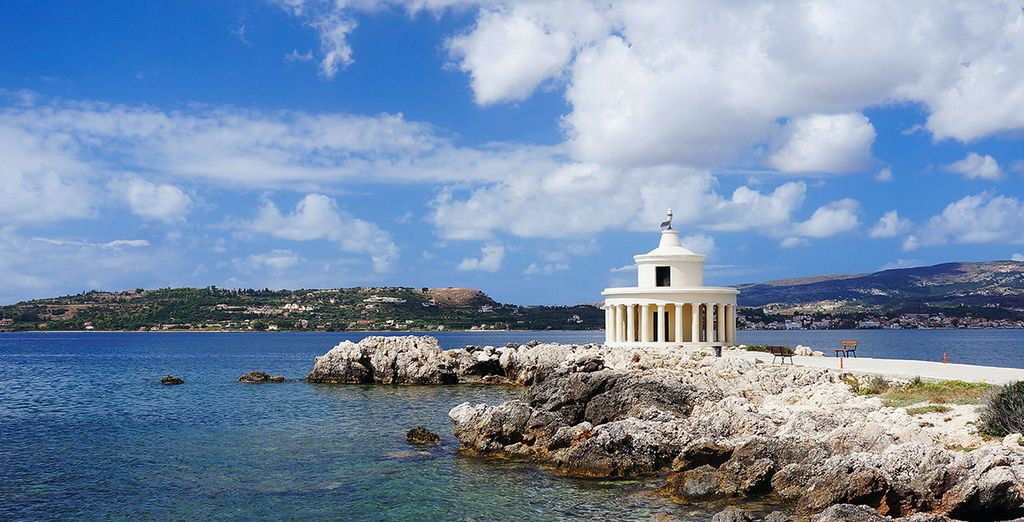 And Argostoli - the capital of the island - just 8km from your accommodation