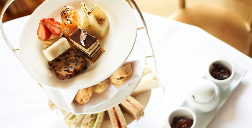 Why not treat yourself to some afternoon tea, fit for a queen?