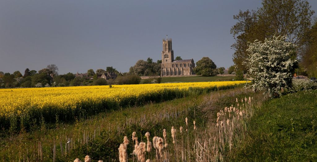 There's so much to explore in the pleasant fields of Northamptonshire,
