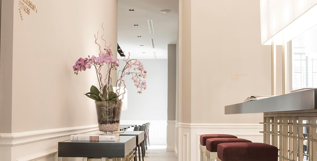 A brand new boutique hotel