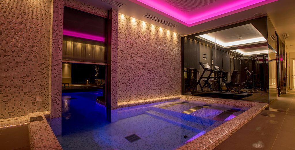 Or take a dip in the glorious indoor pool