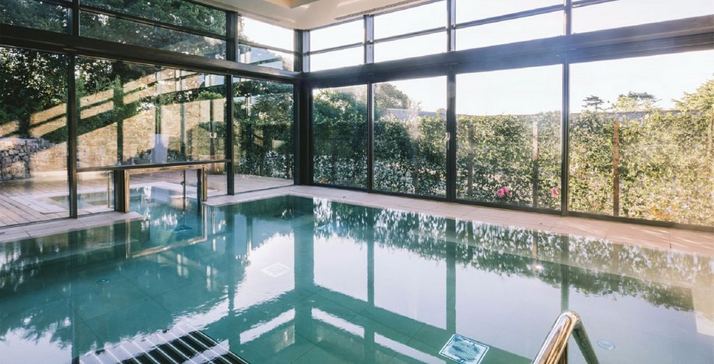 A luxurious spa retreat