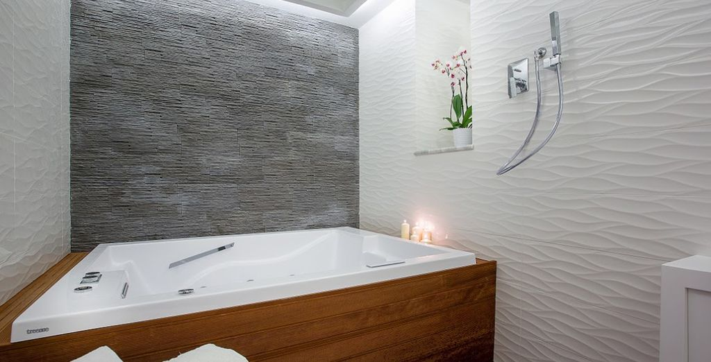 Relax in the wellness room