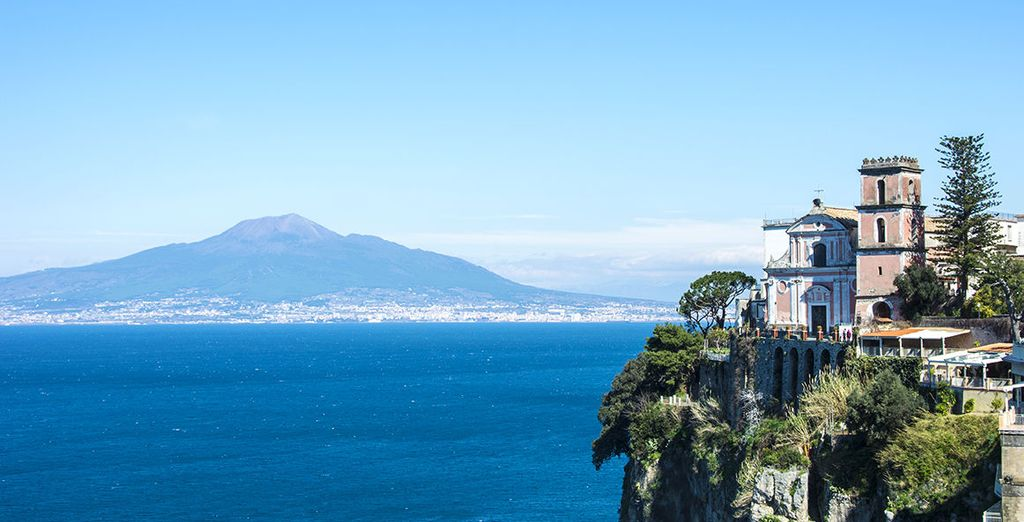 From the coastal town of Vico Equense