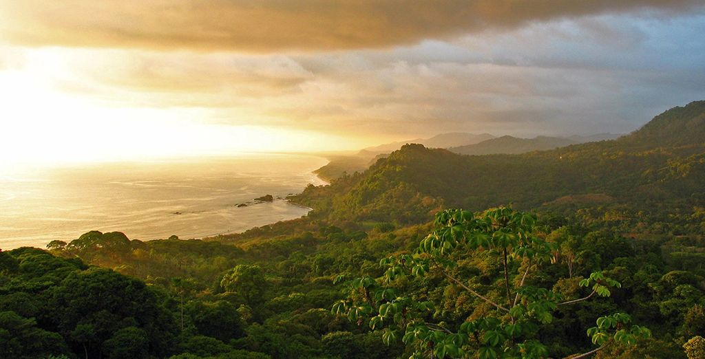 Travel through stunning landscapes