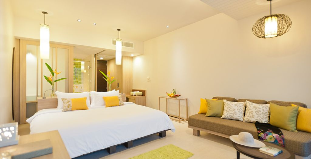 Stay Standard Room, elegant and bright