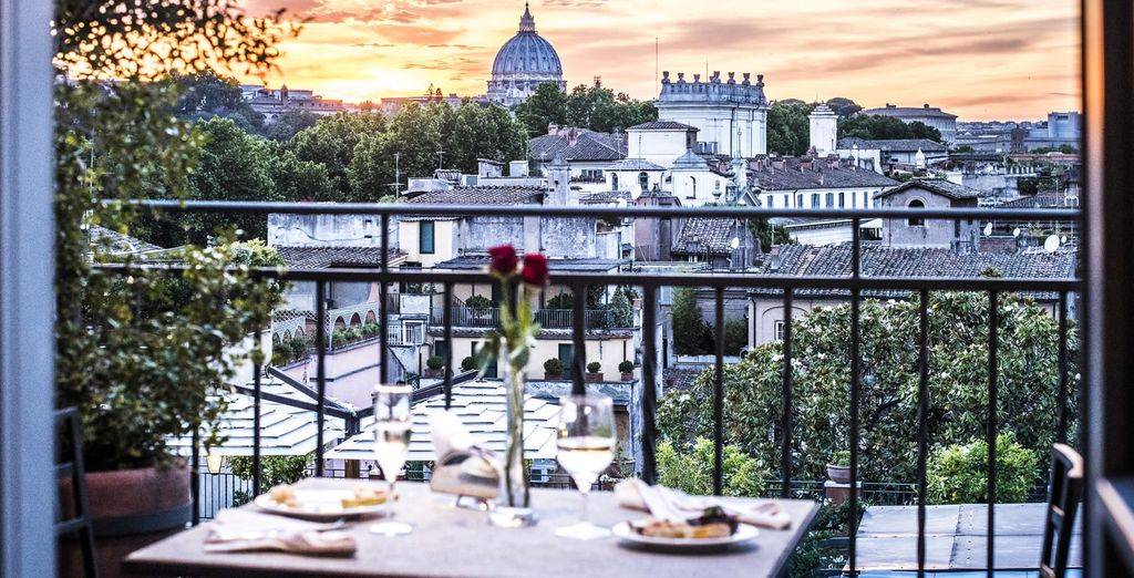 Admire views of St. Peter's Basilica from your hotel...