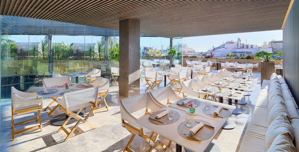 Elegant outdoor spaces