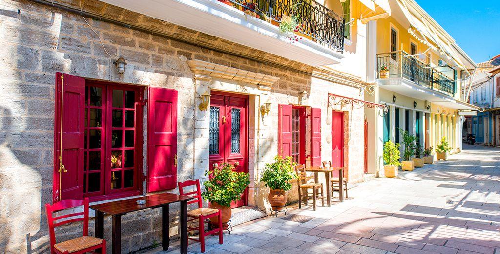 Full of quaint villages (Lefkada town)