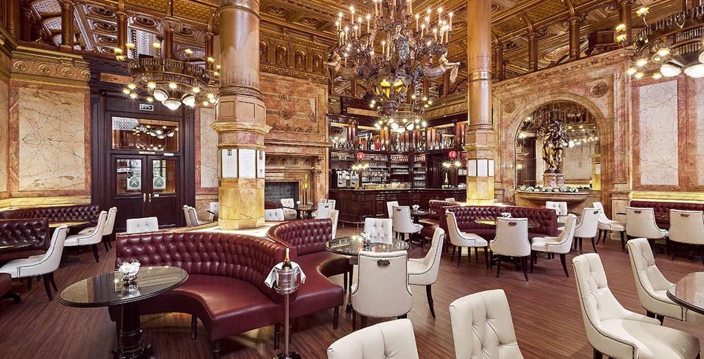 Don't miss the impressively glamorous Café Metropole