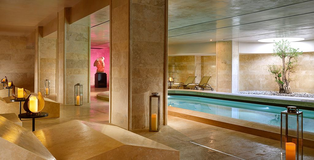 A lovely luxury hotel and wellness spa