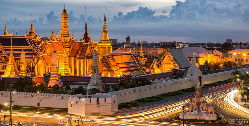 You can choose to enhance your stay with a stopover in Bangkok