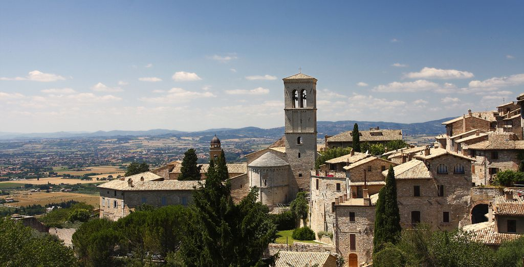 In Torgiano, a stunning part of Umbria