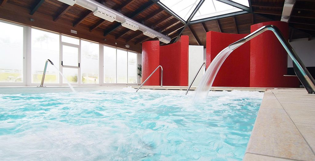 Upscale facilities at the Spa will relax and calm you