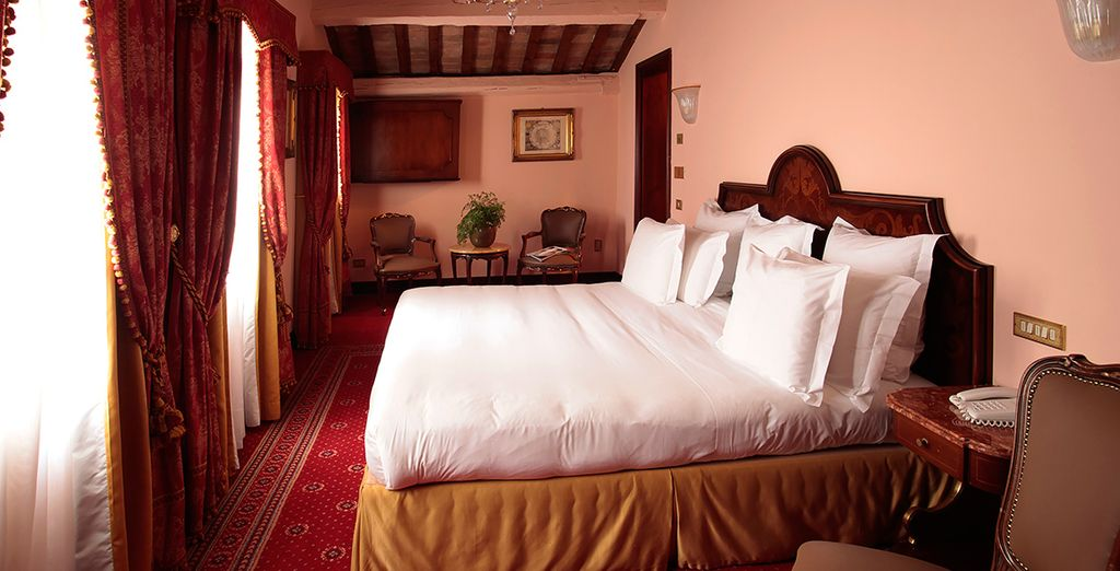 Our members can enjoy a stay in a Deluxe Comfort Room